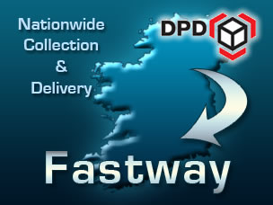 Nationwide collection and delivery: DPD / Fastway